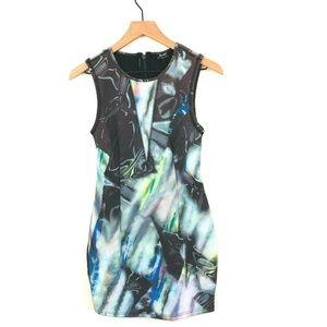 NWT! Bardot Revolve Scuba Satellite Mini Dress